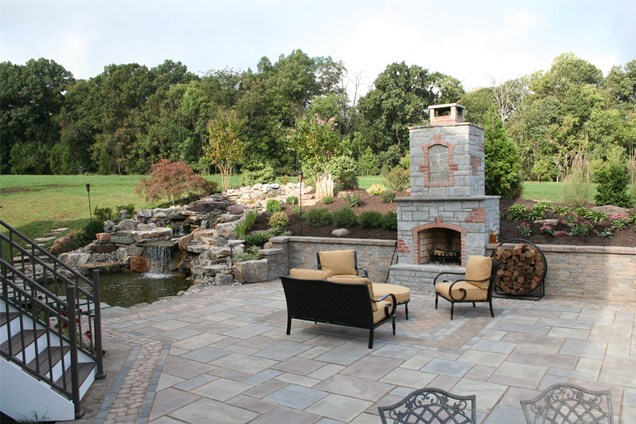 backyards design. Landscape Designs For Large Backyards - And Beautiful Photos. Photo To Select | Design Your Home P