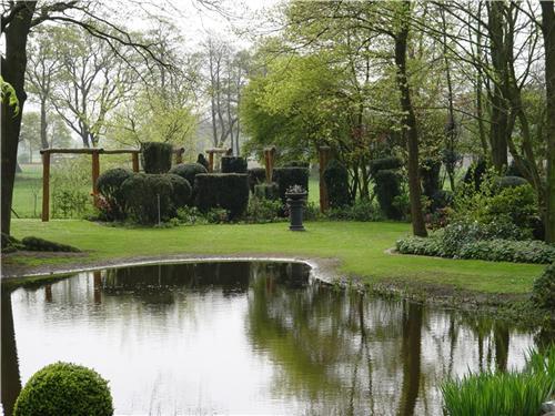 landscape designs for large backyards photo - 2