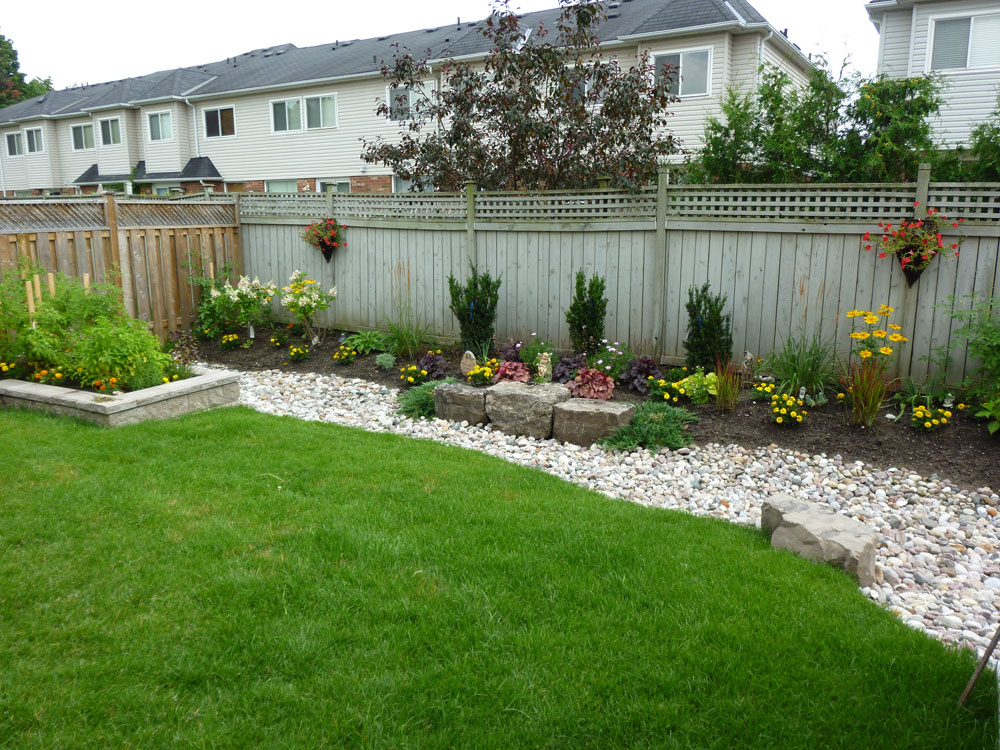 landscaping pictures for backyards photo - 1