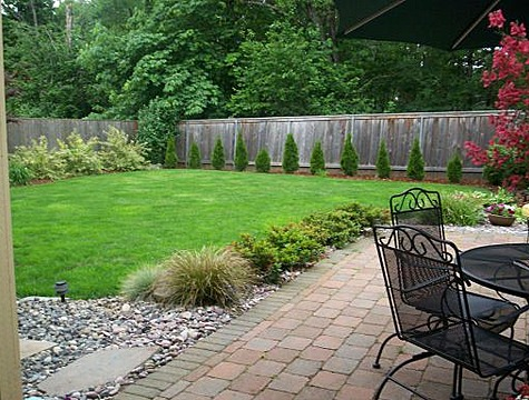 Large backyard landscaping ideas large and beautiful for Large lot landscaping ideas