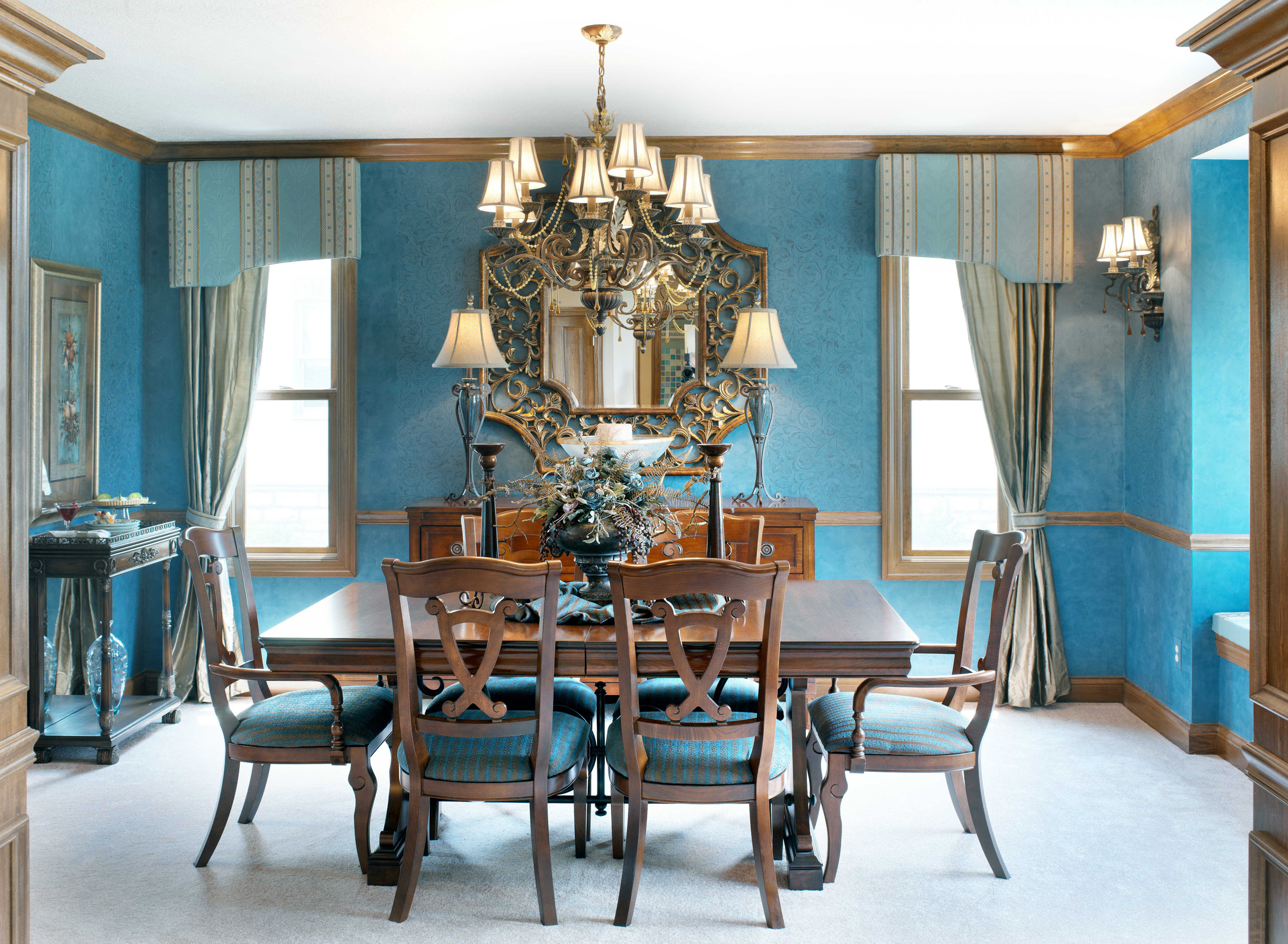 large dining room chandeliers photo - 1