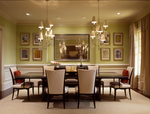 large dining room mirrors photo - 1