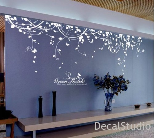 large wall decals for bedroom photo - 1