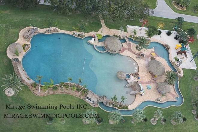 largest backyard swimming pool photo - 1