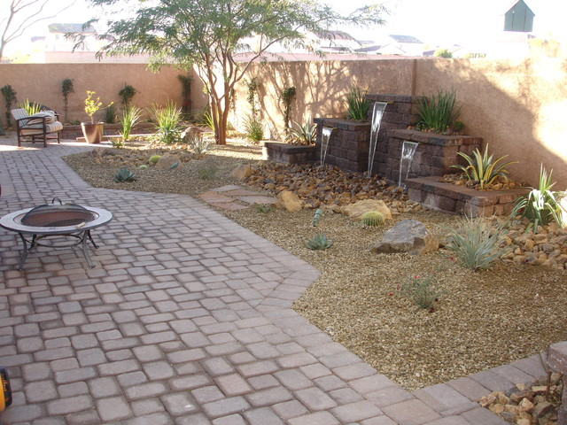 las vegas backyard landscaping photo - 1
