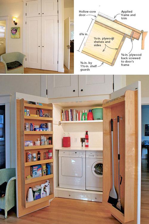 garage laundry room decorating ideas - Laundry room in garage decorating ideas large and