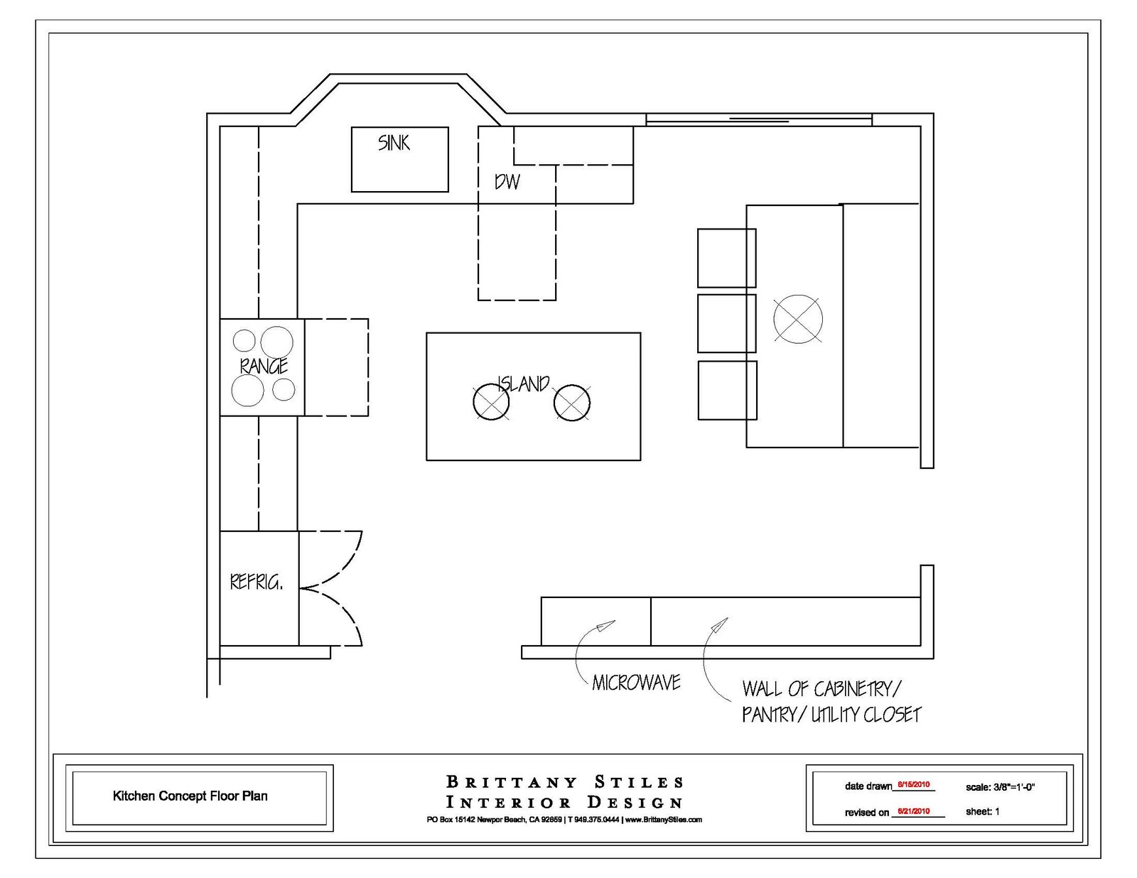 layouts for small kitchens photo - 1
