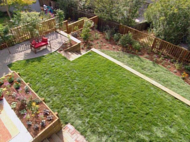leveling backyard photo - 2
