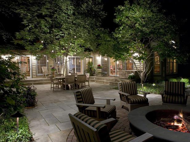 lighting for backyard photo - 1