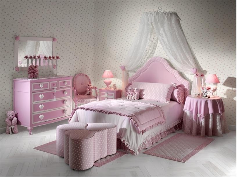 little girl bedroom designs photo - 1