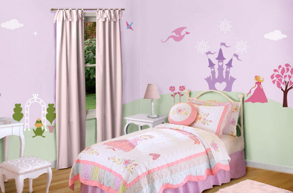 little girls bedroom paint ideas photo - 2