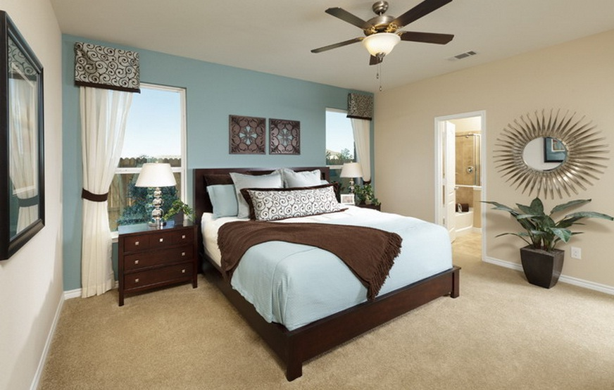 Bedroom Color Palette Ideas master bedroom color scheme ideas - large and beautiful photos