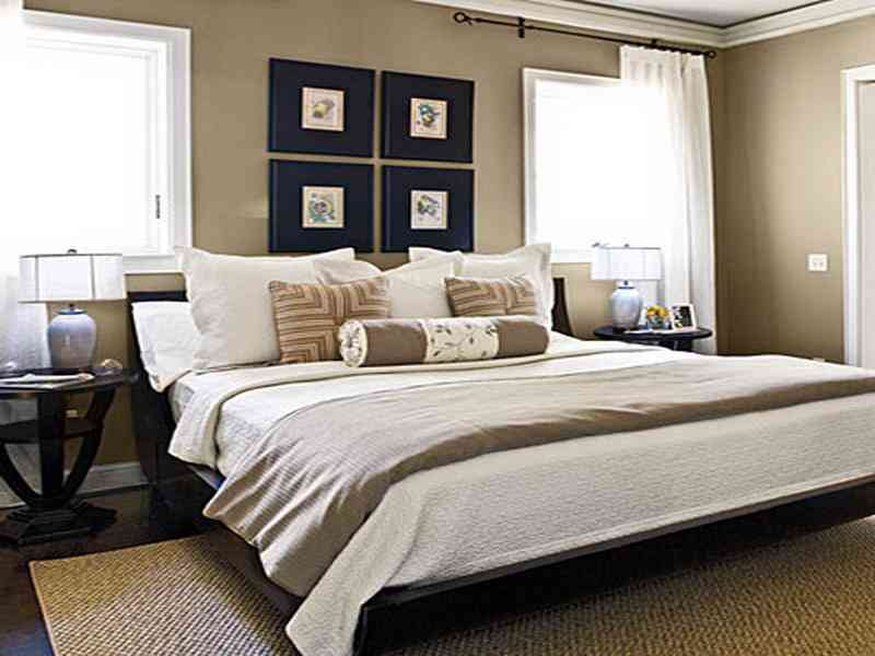 Master bedroom wall decor - large and beautiful photos. Photo to ...