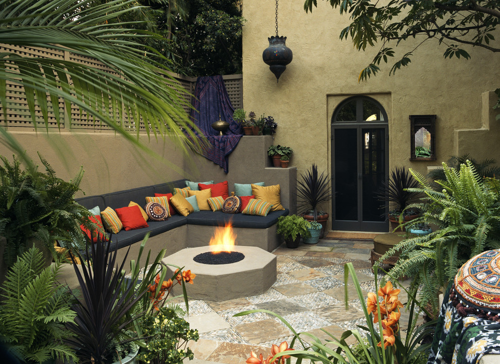 Mediterranean Backyard Designs Good Looking