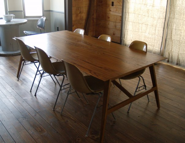 mid century dining room furniture photo - 1