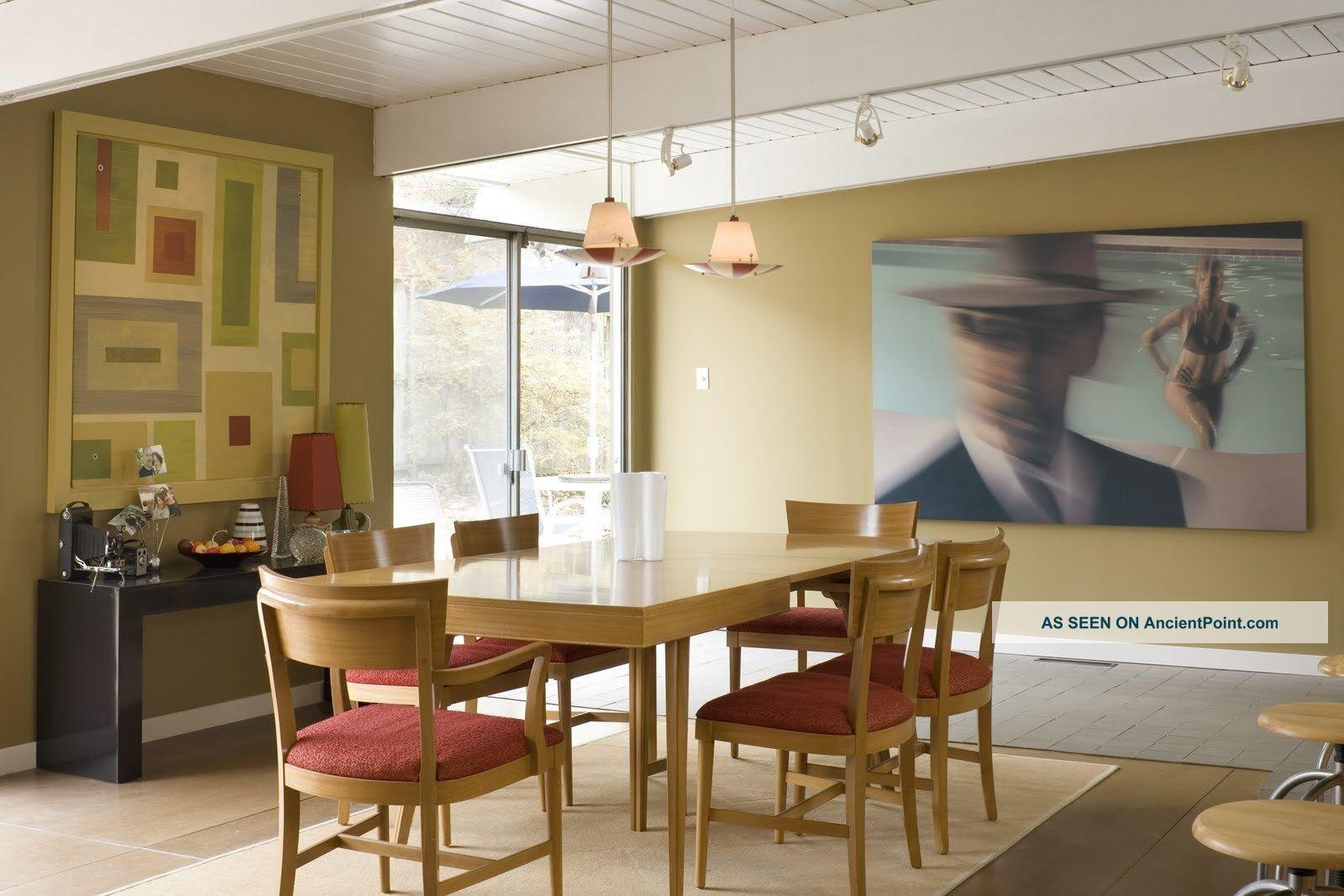 mid century dining room furniture photo - 2