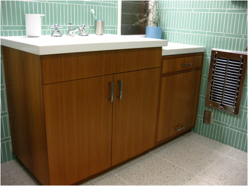 Mid Century Modern Bathroom Tile Photo   1