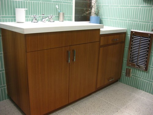 Mid century modern bathroom vanity large and beautiful photos