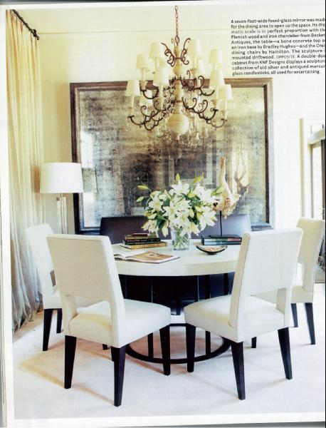 mirror dining room photo - 1
