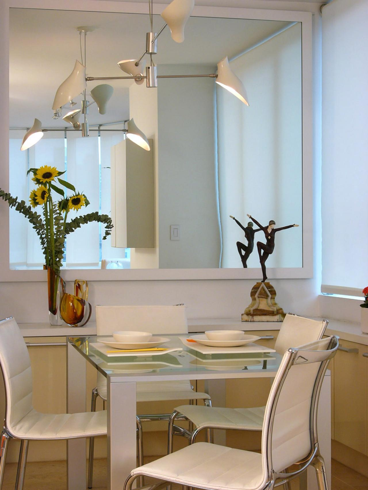 mirror in dining room photo - 1