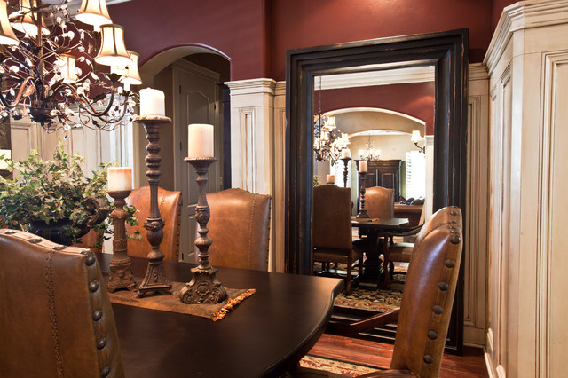 mirror in dining room photo - 2