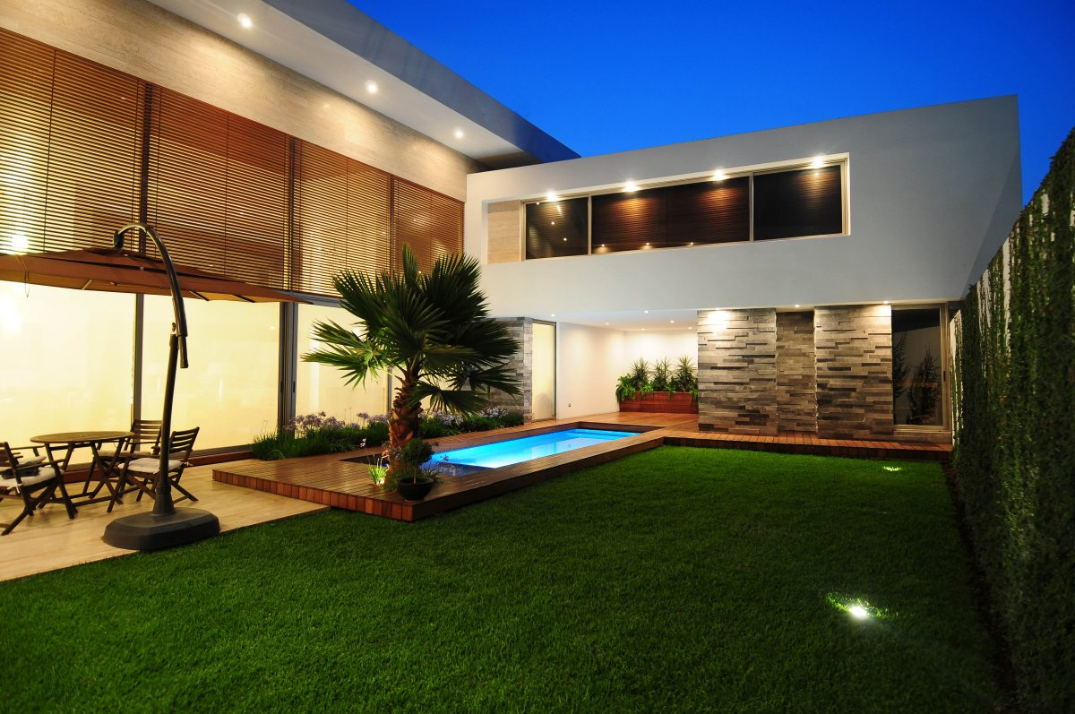Modern Backyard Large And Beautiful Photos Photo To Select - Modern backyard design ideas