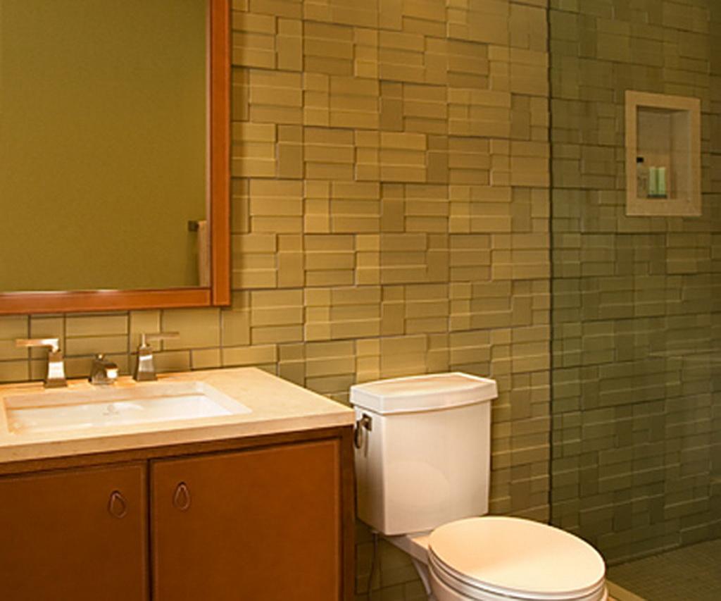 Bathroom tiles designs for small spaces - Modern Bathroom Tile
