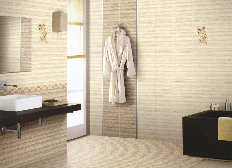 Cream Tiles Bathroom Ideas Part - 15: Modern Bathroom Tile Ideas