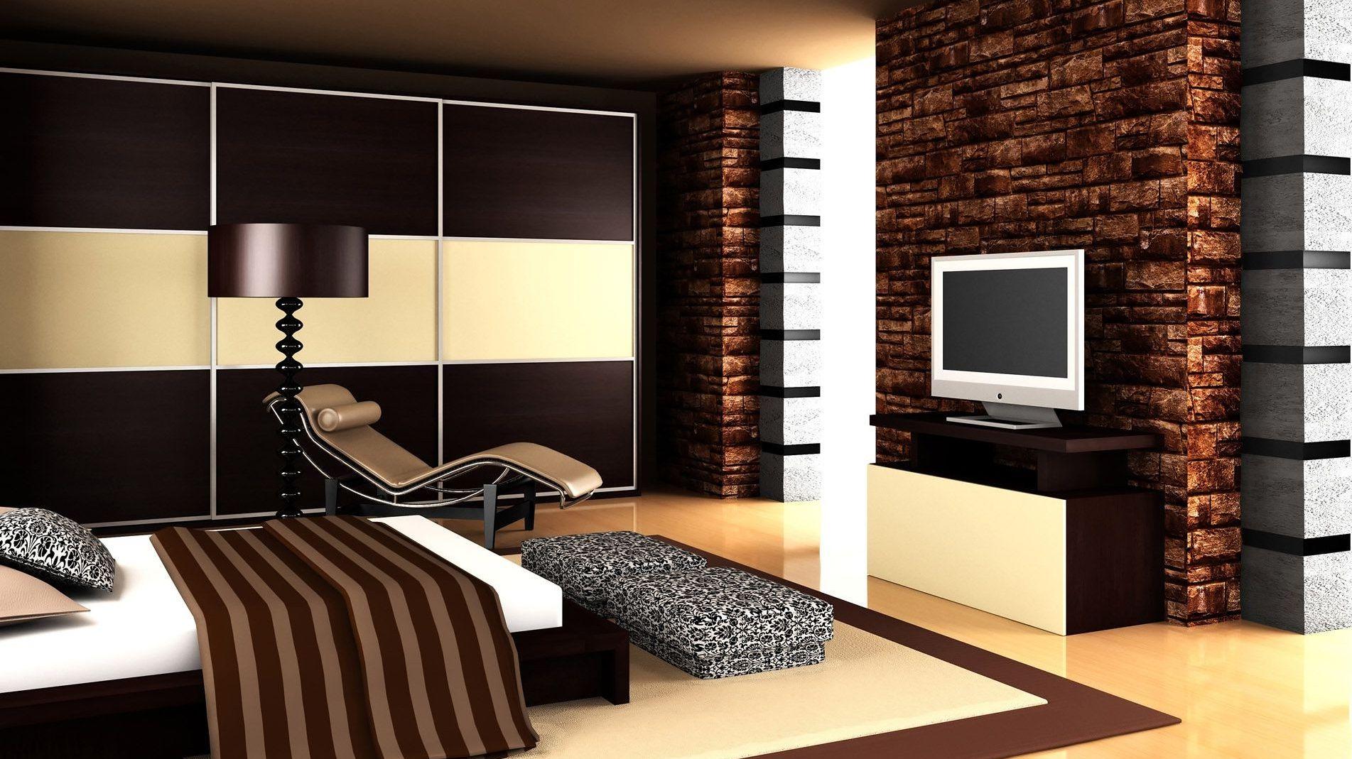 modern bedroom color schemes photo - 1