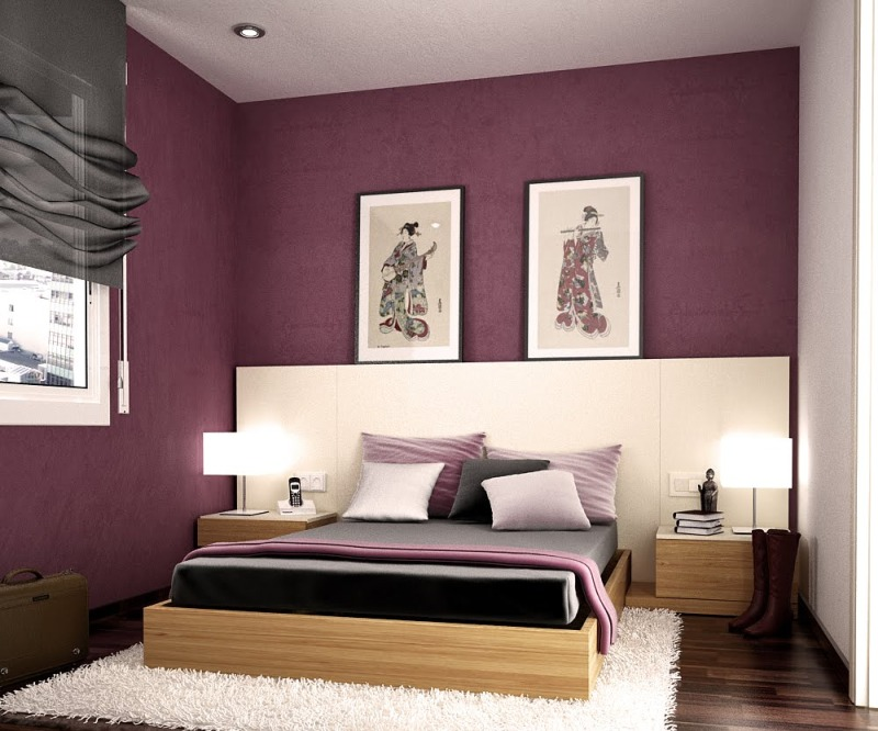 modern bedroom colors photo - 2