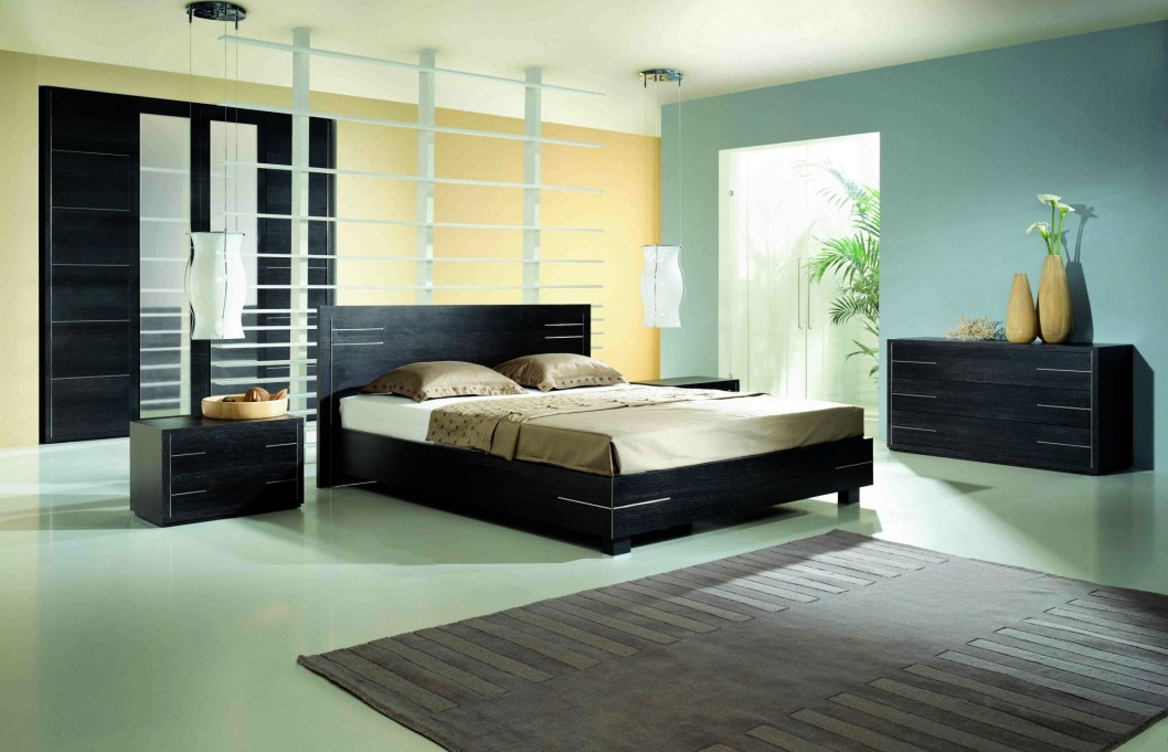 modern bedroom wall colors photo - 2