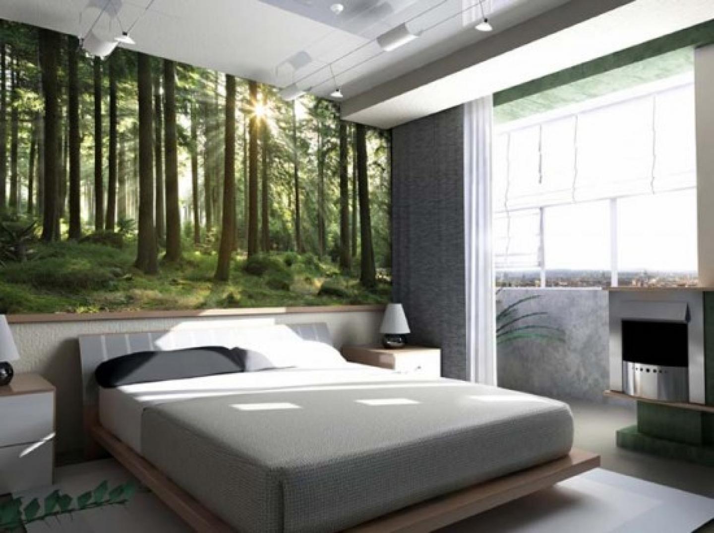 Modern Bedroom Wallpaper Photo 2