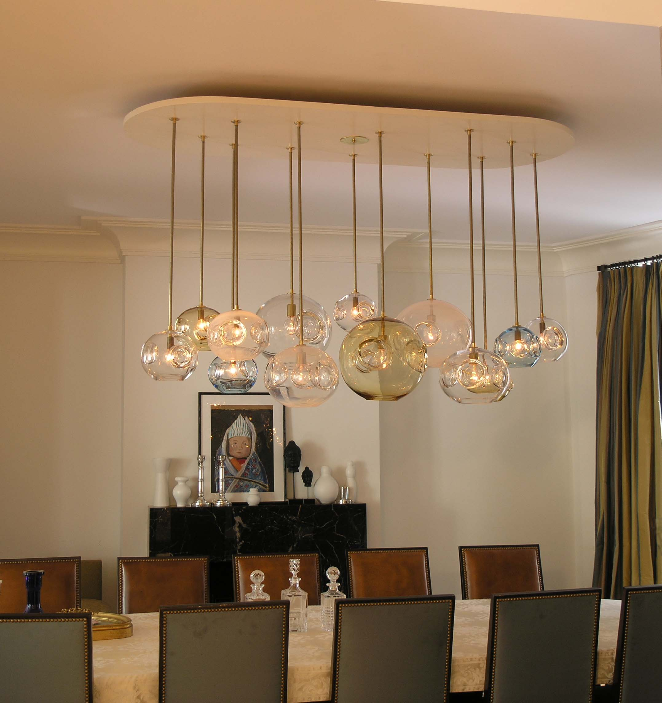 modern chandelier for dining room photo - 1