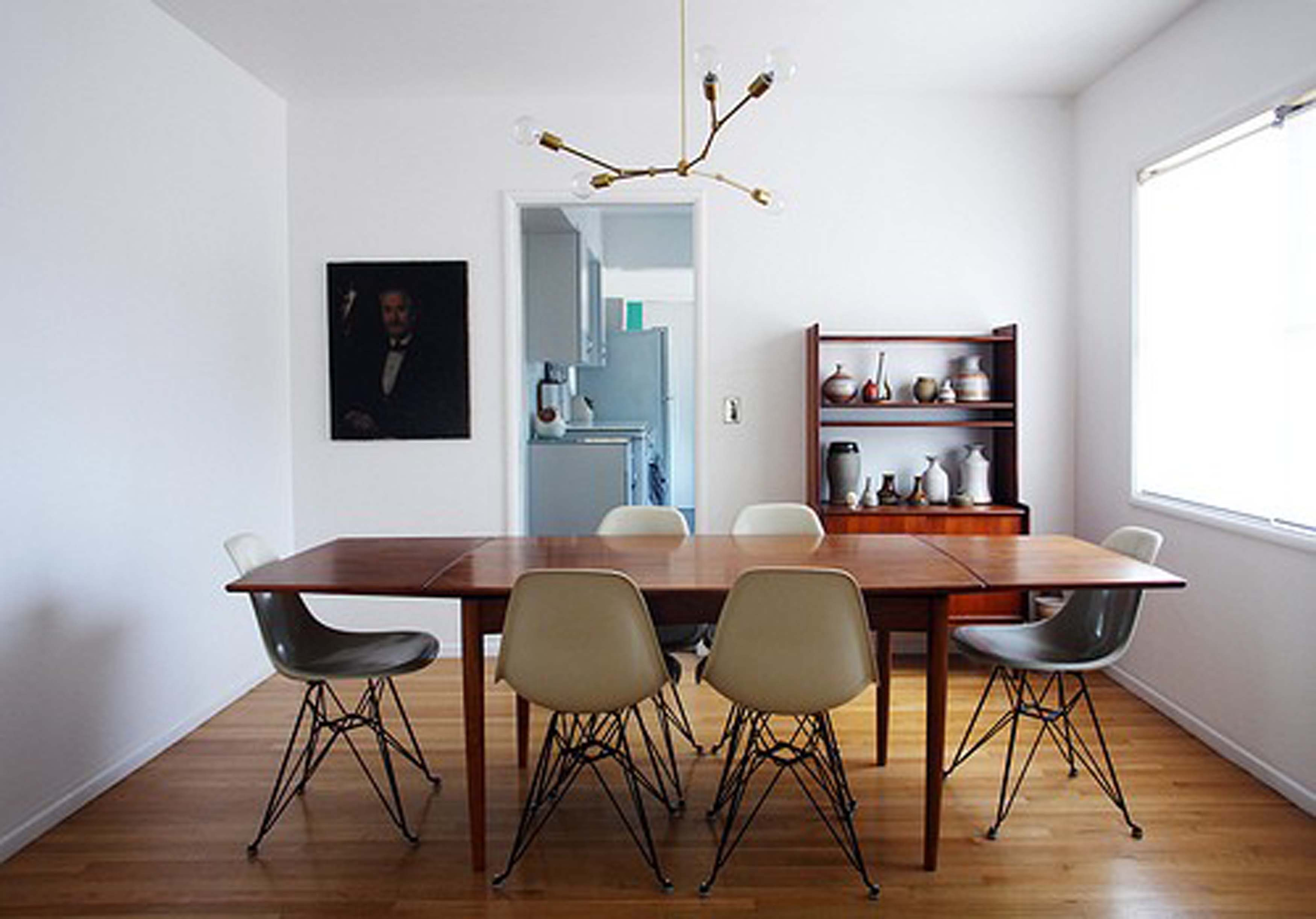modern chandelier for dining room photo - 2