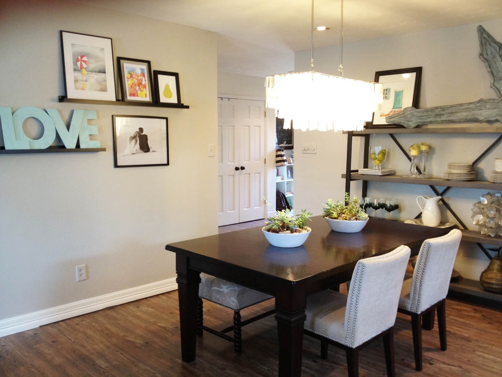 modern chandeliers for dining room photo - 1