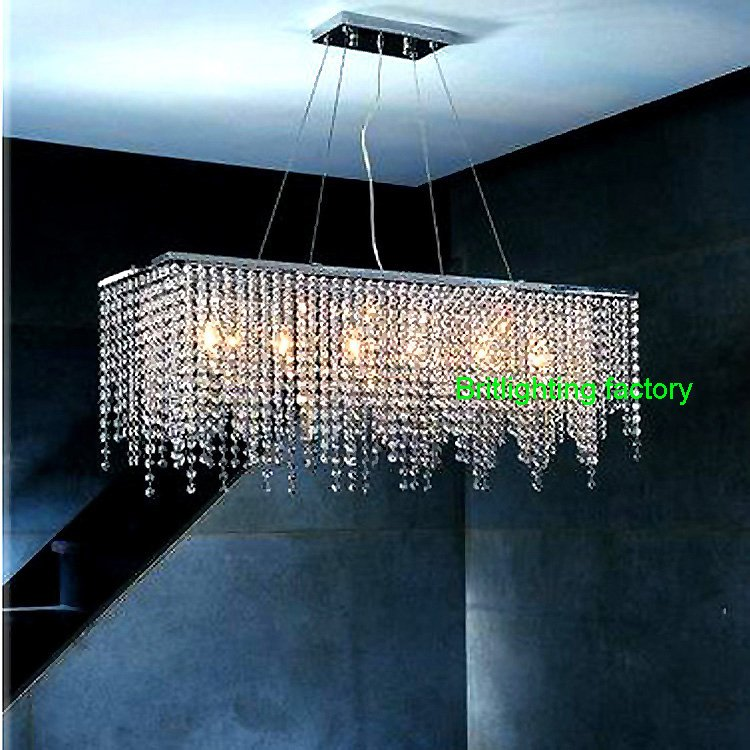 modern chandeliers for dining room photo - 2