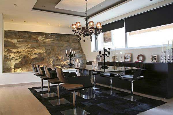 modern dining room chandelier photo - 1