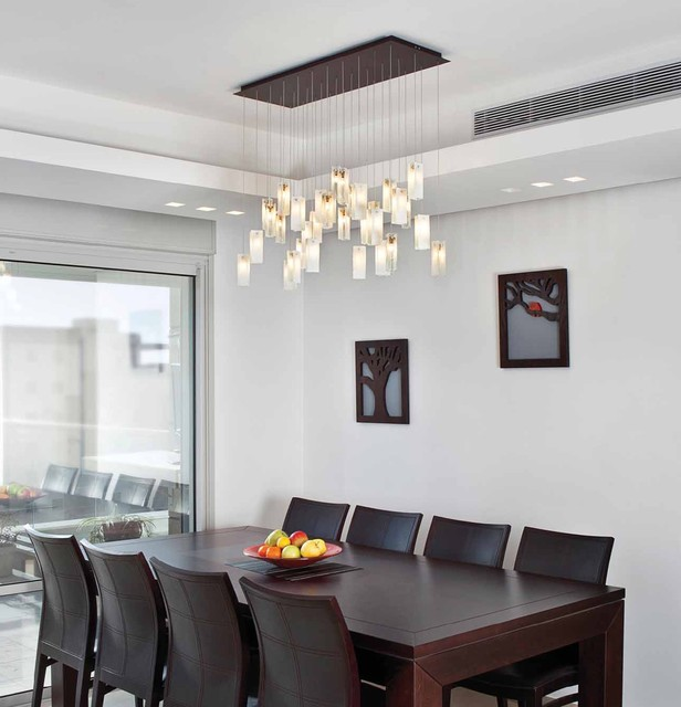 modern dining room chandeliers photo - 1