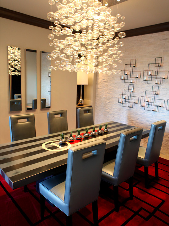 modern dining room chandeliers photo - 2