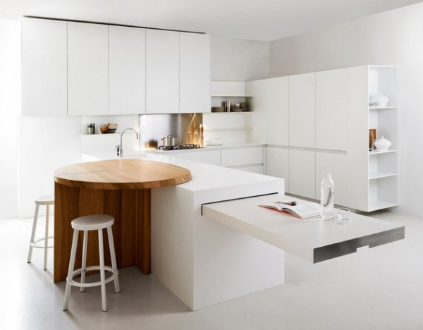 modern kitchen designs for small spaces photo - 1