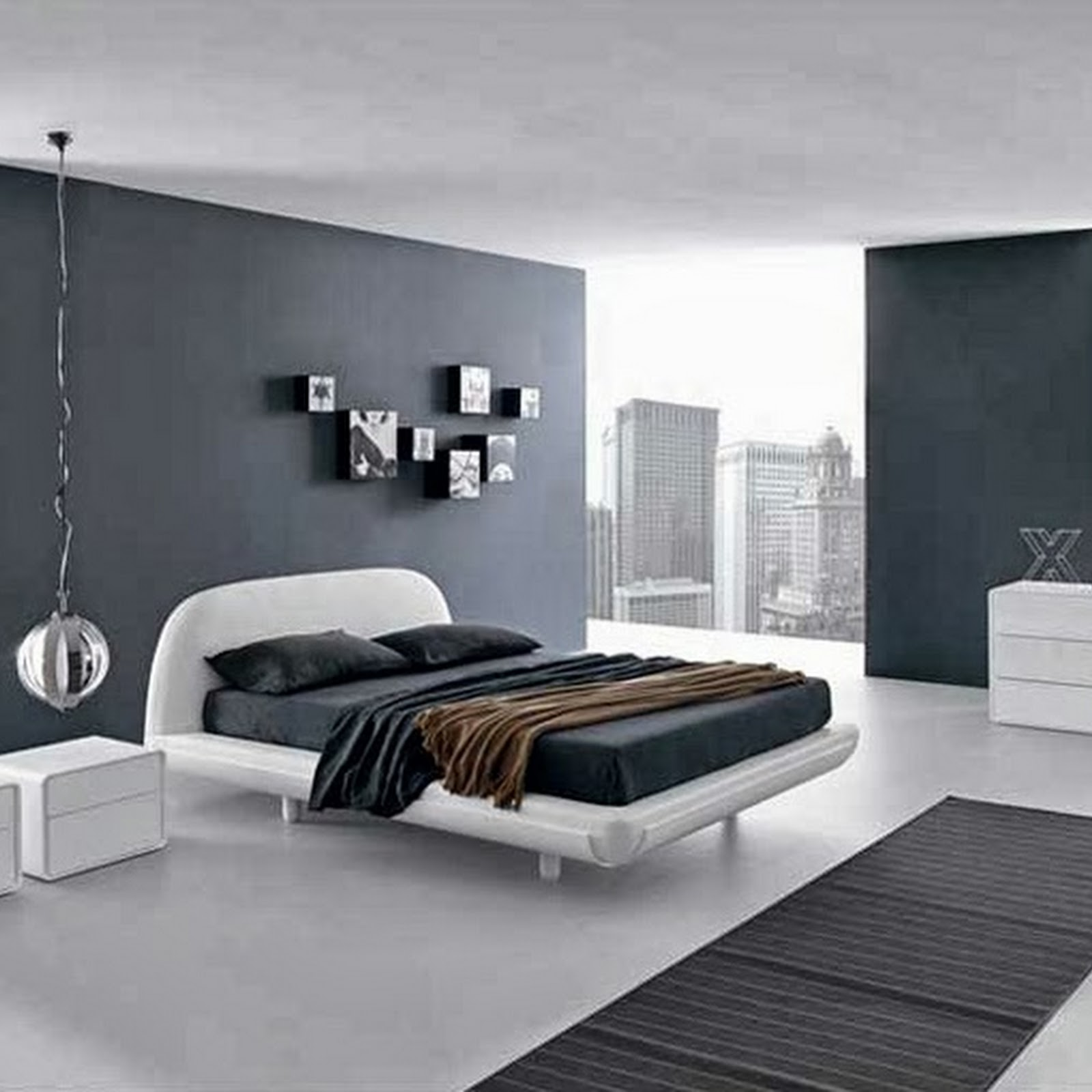 modern paint colors for bedroom photo - 2