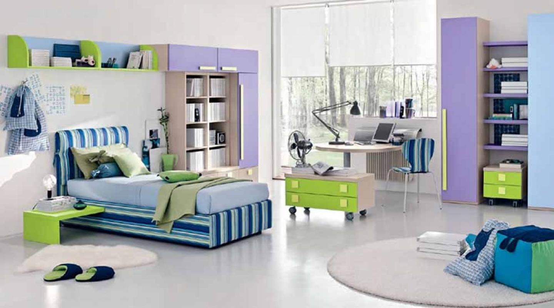 modern teenage bedroom photo - 1