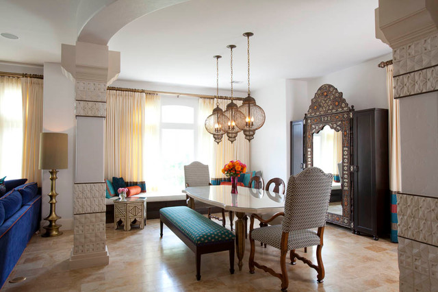 moroccan dining room photo - 2
