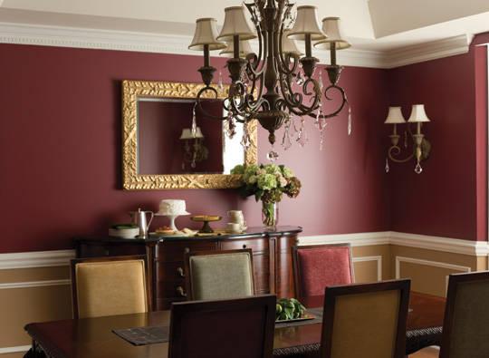 Most Popular Dining Room Colors Bast Design Photo