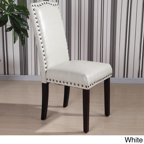 Nailhead trim dining chair large and beautiful photos Photo to