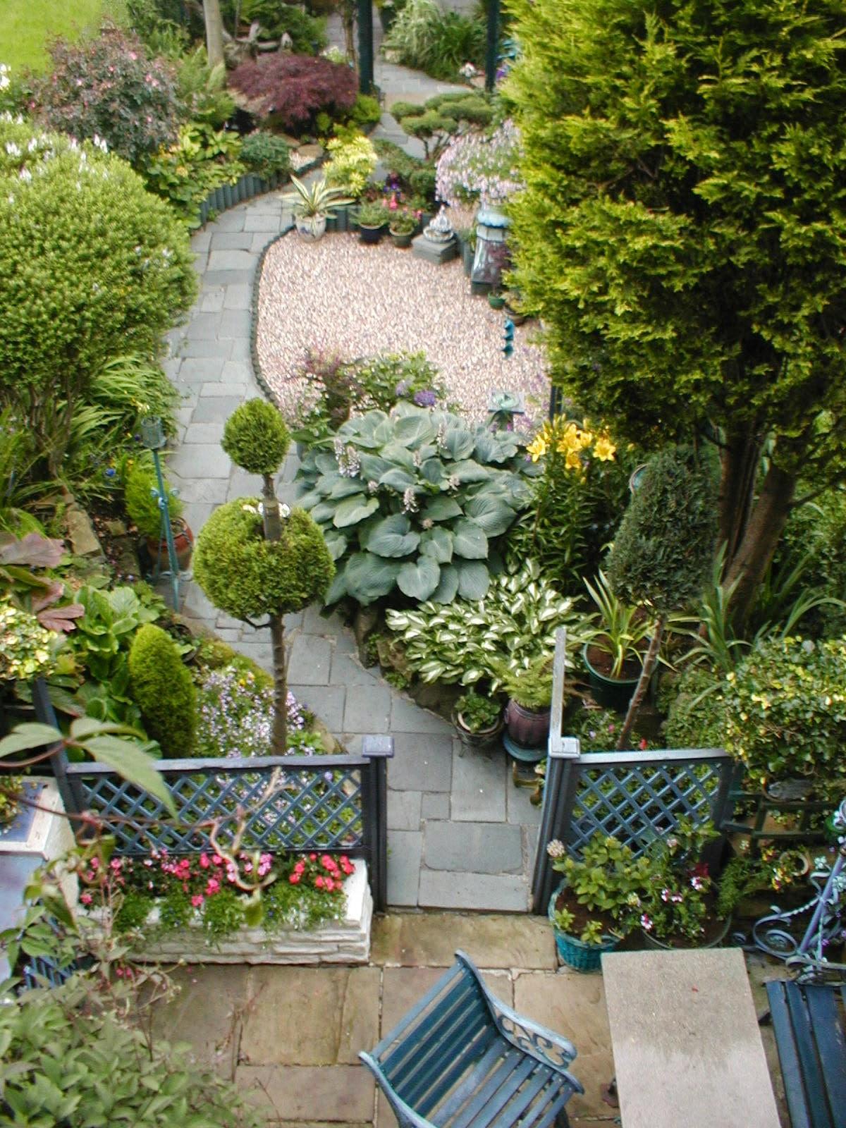 narrow backyard ideas photo - 2