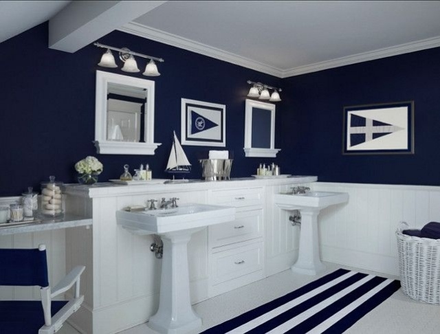 Superbe Nautical Bathroom   Large And Beautiful Photos. Photo To Select Nautical  Bathroom | Design Your Home