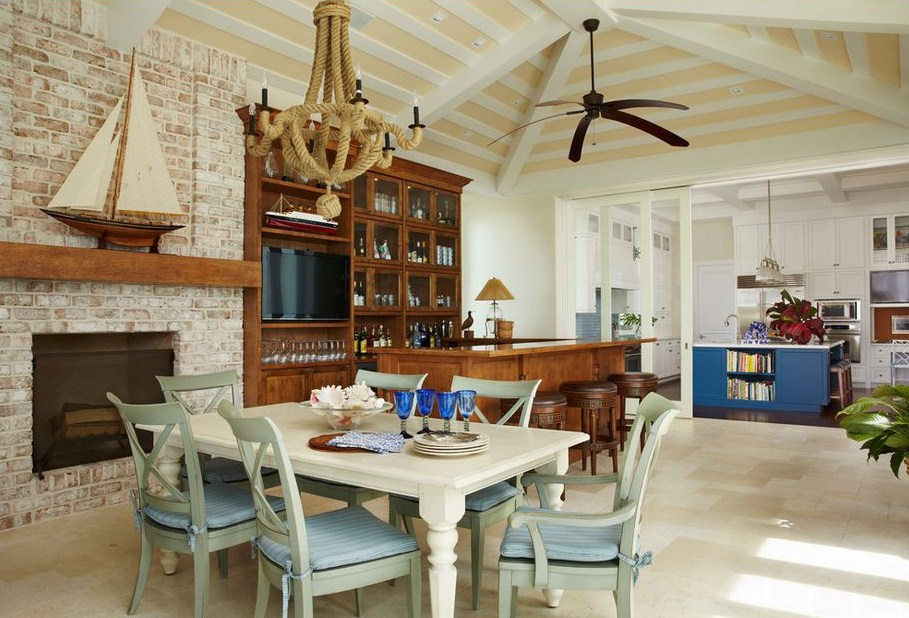 nautical dining room photo - 2