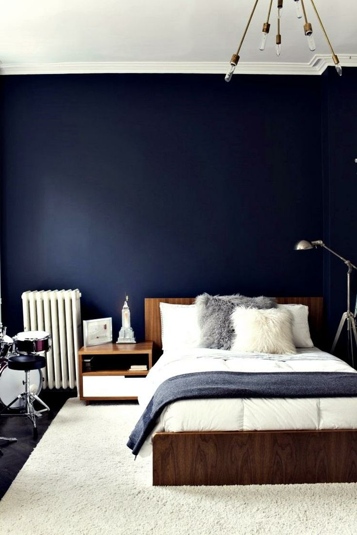 Navy Bedroom Ideas. Navy bedroom walls large and beautiful photos Photo to select Blue Bedroom Walls  Ideas