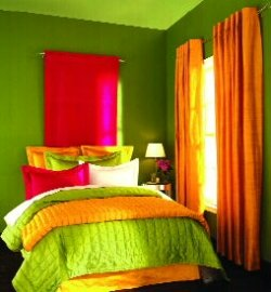 neon paint colors for bedrooms photo - 2